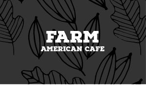 American Cafe Business Card