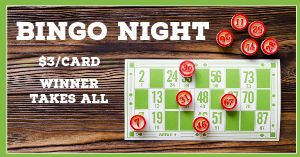 Bingo Night Facebook Post