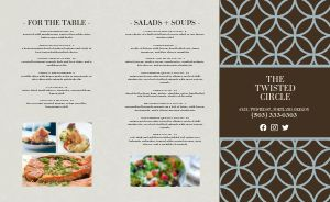 Country Club Dine In Takeout Menu