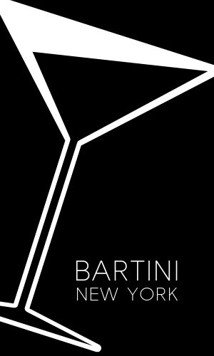Martini Bar Business Card