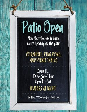 Patio Open Flyer