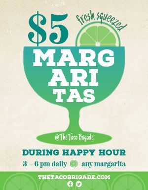 Margarita Flyer
