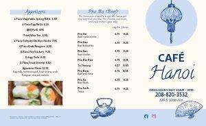 Vietnamese Cafe Takeout Menu