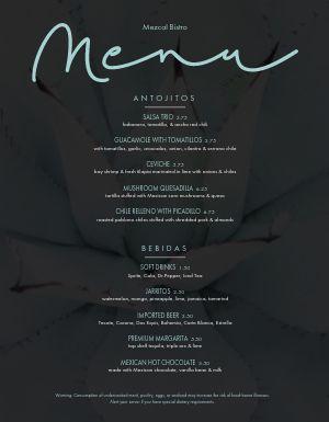 Downtown Mexican Restaurant Menu