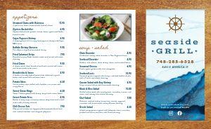 Seafood Sailor Takeout Menu