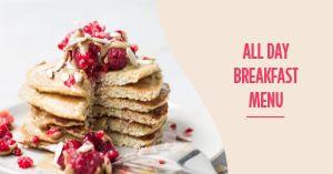 All Day Breakfast Facebook Post