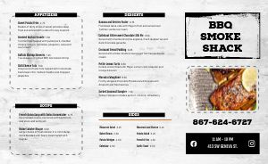 BBQ Sandwiches Takeout Menu