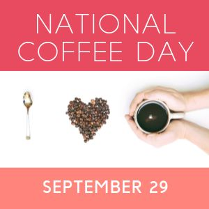 National Coffee Day Instagram Post