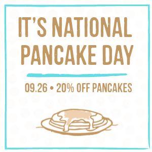 National Pancake Day Instagram Post