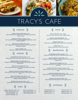 Mediterranean Cafe Menu