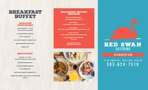 Breakfast Catering Takeout Menu