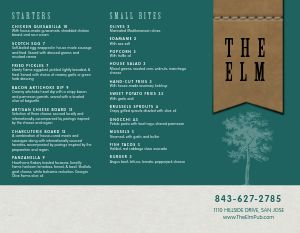 Emerald Pub Takeout Menu