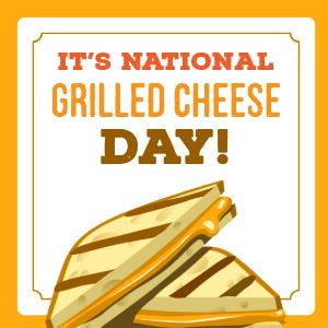 National Grilled Cheese Instagram Post