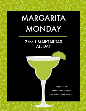Margarita Monday Flyer