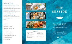Blue Seafood Takeout Menu