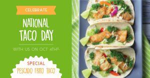 Taco Day Facebook Post