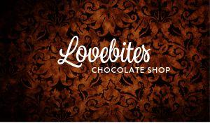 Chocolate Shop Business Card