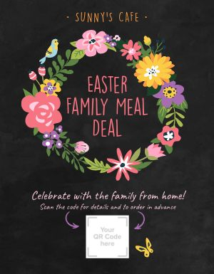 Easter Family Flyer