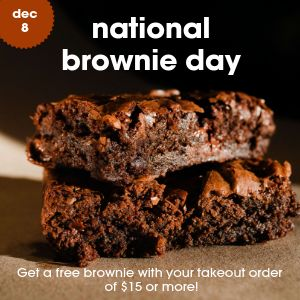 National Brownie Day Instagram Post