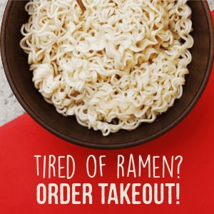 No Ramen Instagram Post