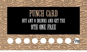 Drinks Loyalty Card