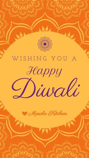 Elegant Diwali Instagram Story