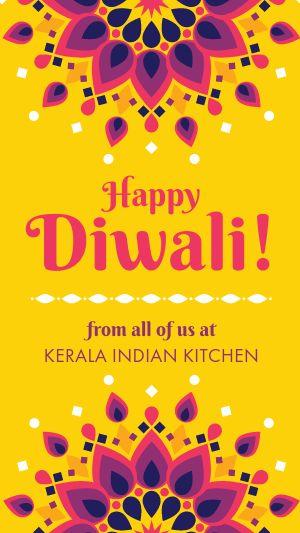 Diwali Festival Instagram Story
