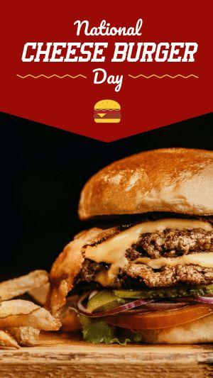 Cheeseburger FB Story