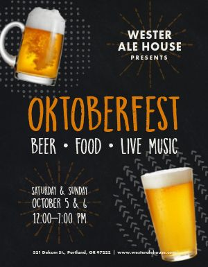 Happy Oktoberfest Flyer