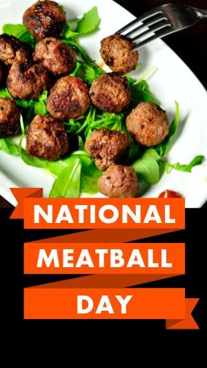 Meatball Instagram Story