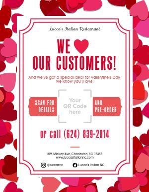 Valentines Day Heart Flyer
