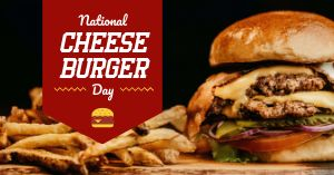 Cheeseburger FB Post