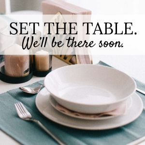 Set the table Instagram Post