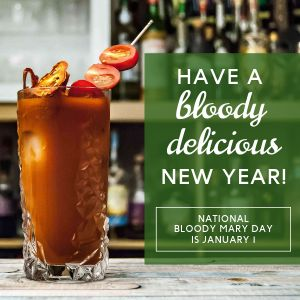 Bloody Mary Day Instagram Post