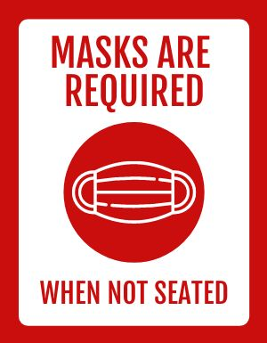 Masks Required Flyer