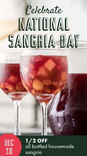 Sangria Facebook Story