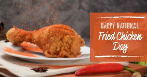 Fried Chicken Facebook Update