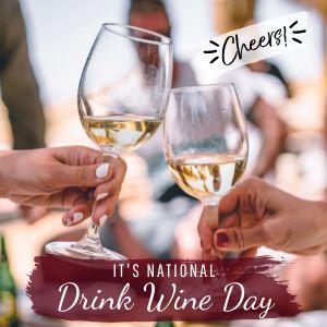 Drink Wine Instagram Update