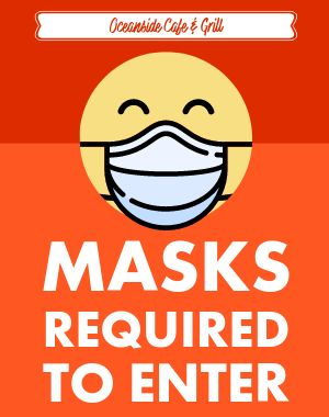 Enter Masks Poster