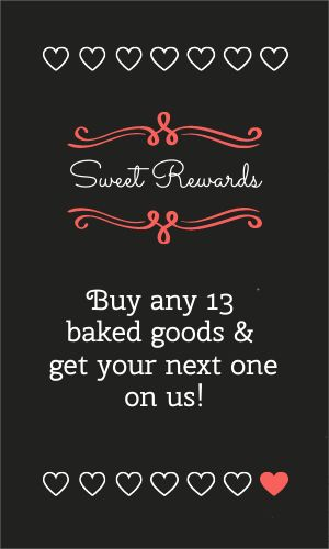 Bakery Rewards Card
