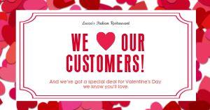 Valentines Day Heart Facebook Update
