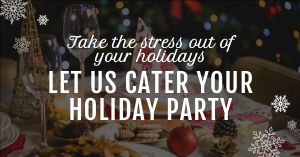 Holiday Party Facebook Post