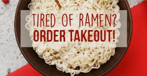 No Ramen Facebook Post