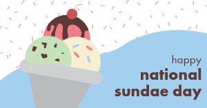 National Sundae Day Facebook Post