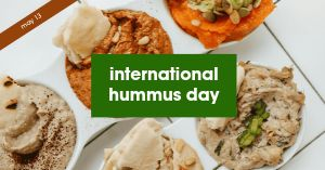 Hummus Facebook Post