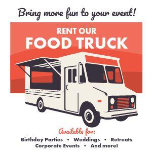 Food Truck Catering Instagram Post