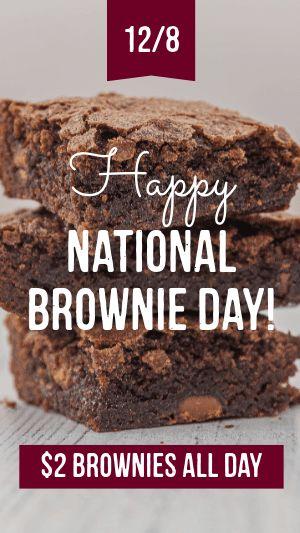 Brownie Day Facebook Story