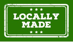 Locally Made Sticker