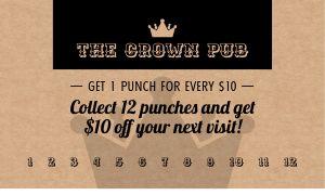 Pub Punch Card