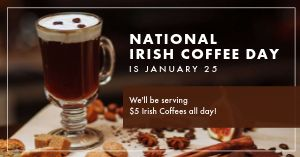 Irish Coffee Facebook Post